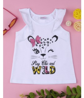 Top Stay Chic and Wild