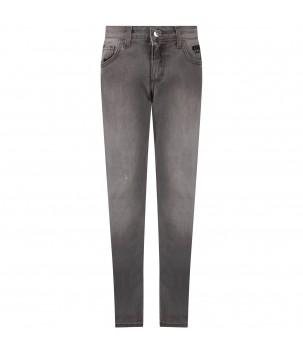 Pantaloni jeans gri