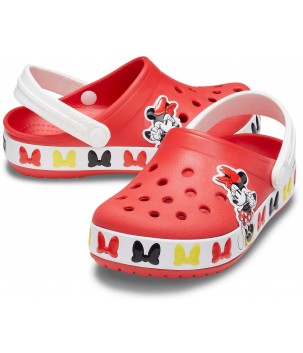 Saboti Fan Land Disney Minnie Mouse Band Clog