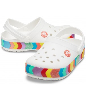 Saboti Crocband Chevron Beaded Clog