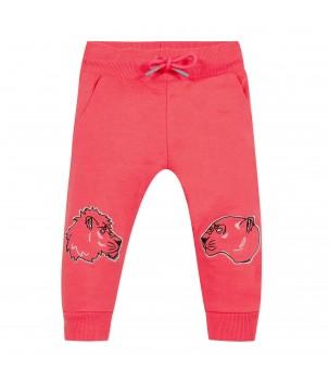 Pantaloni trening neon pink