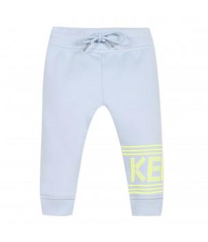 Pantaloni trening bleu