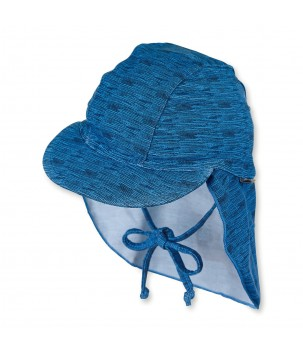 Sapca plaja albastra