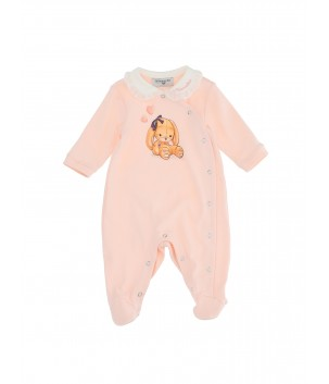 Salopeta Baby Pink