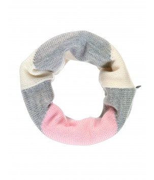 Esarfa tricotata cilindrica