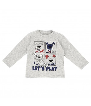 Tricou ML LET'S PLAY!
