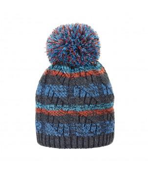 Caciula tricotata gri