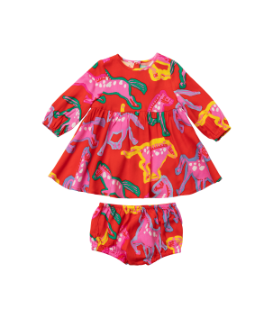Rochie Painted Horses