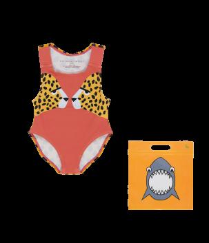 Costum de baie cu ghepard
