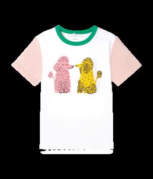 Tricou Colorblock Poodles