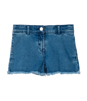 Pantaloni scurti denim cu fluture