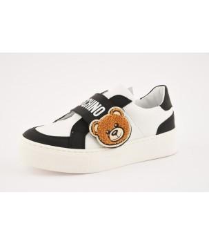 Pantofi alb/negru