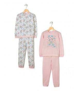 Pijamale maneca lunga fata