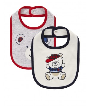 Set baveta unisex RED AND BLUE