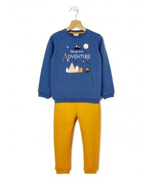Pijamale maneca lunga baiat