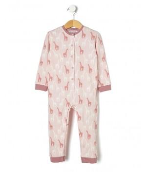 Pijamale cu girafe