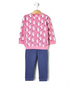 Pijamale cu iepurasi