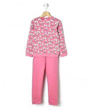 Pijama cu ursi panda