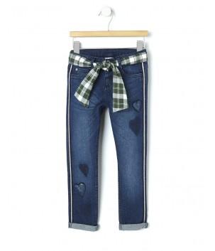 Pantaloni jeans cu glitter SWEETY