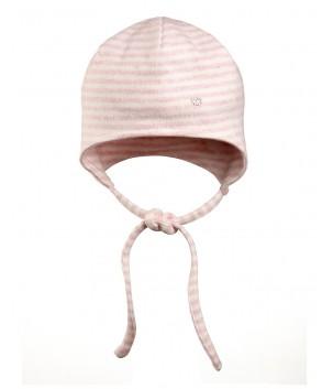Caciula cu dungi roz