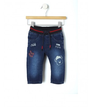 Pantaloni denim WINTER NAVY