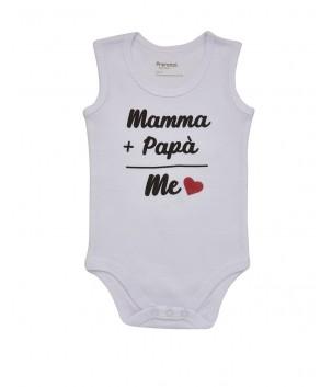 Body fara maneca Mamma+Papa