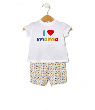 Set nou-nascut I love Mama