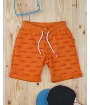 Pantaloni scurti Orange Car
