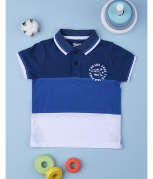 Tricou polo INTO THE BLUE