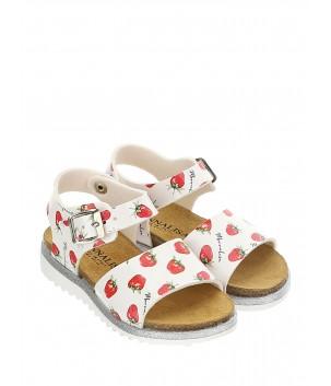 Sandale cu capsuni