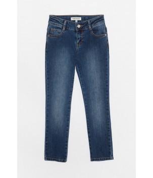 Jeans albastru