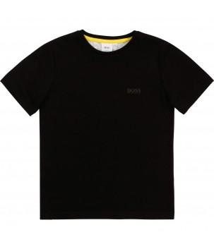 Tricou cu print pe spate