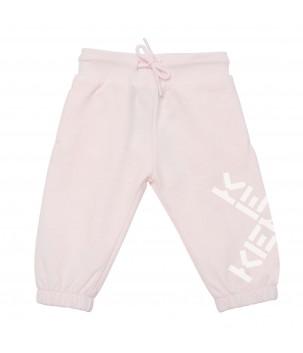 Pantaloni trening roz